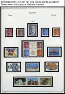 SPANIEN **, Postfrische Sammlung Spanien Von 1991-2002 Im KA-BE Album, Bis 1999 Komplett, Mit Vielen Kleinbogen, Prachte - Ohne Zuordnung