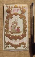 Textile 145, Etiquette Chromo Litho, CF Fil A La Dentellière - Other