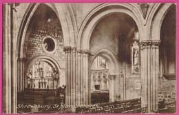 PC12147 Interior, St. Mary's Church, Shrewsbury, Shropshire, England. - Shropshire