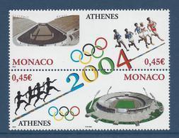 ⭐ Monaco - YT N° 2439 Et 2440 - Neuf Sans Charnière - 2004 ⭐ - Nuovi