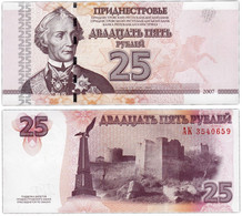 Transnistria 25 Rubles 2007 UNC - Other - Europe