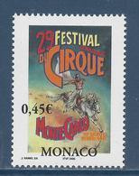 ⭐ Monaco - YT N° 2461 - Neuf Sans Charnière - 2004 ⭐ - Nuovi