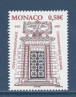 ⭐ Monaco - YT N° 2470 - Neuf Sans Charnière - 2004 ⭐ - Nuovi