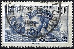 France 1934 - Mi 293 - YT 297 ( Jacques Cartier, French Sailor ) - Usati
