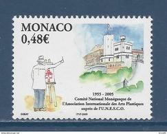 ⭐ Monaco - YT N° 2482 - Neuf Sans Charnière - 2005 ⭐ - Unused Stamps