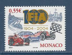 ⭐ Monaco - YT N° 2485 - Neuf Sans Charnière - 2005 ⭐ - Unused Stamps