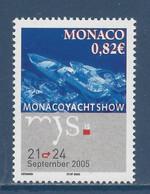 ⭐ Monaco - YT N° 2497 - Neuf Sans Charnière - 2005 ⭐ - Unused Stamps