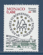 ⭐ Monaco - YT N° 2504 - Neuf Sans Charnière - 2005 ⭐ - Unused Stamps