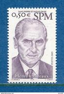 ⭐ Saint Pierre Et Miquelon - YT N° 840 ** - Neuf Sans Charnière - 2005 ⭐ - Unused Stamps
