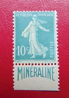 N° 188 A* MINERALINE - Neufs