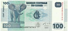 CONGO Democratic Republic - 100 Francs - 30.06.2013 - Pick 98.b - Unc. - Demokratische Republik Kongo & Zaire