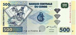 CONGO Democratic Republic - 500 Francs - 04.01.2002 - Pick 96.a - Unc. - Demokratische Republik Kongo & Zaire