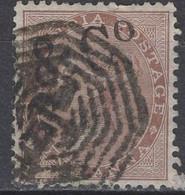 India - Definitive - 1 A - Queen Victoria - Mi 19 - 1865 - 1858-79 Crown Colony