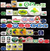 FRUIT For Export Label Sticker Collection 48 Diff. PERU Etichette Etiquettes Etiquetas Adhesive Aufkleber Frucht Fruta - Frutas Y Legumbres