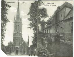 Tournai - Lot De 2 CPA - Templeuve - Tournai