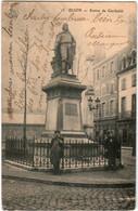 3FOM 18 CPA - DIJON -STATUE DE GARIBALDI - Dijon