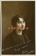 Photo Postcard Portrait Young Woman With Glasses Argentina 1914 - Anonymous Persons