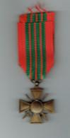 Croix De Guerre 1939 - France