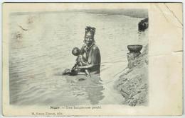 Niger - Une Baigneuse Peuhl - Voir état - Niger