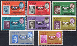 KHOR FAKKAN - 1965 - International Year Of Cooperation - Set Of 8 Stamps (mint Hinged) - Khor Fakkan