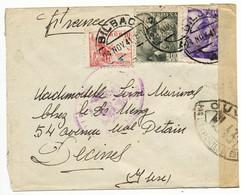 HERAULT ENV  1941 BILBAO ESPAGNE CENSURE BILBAO + CENSURE SETE = WL431 - 1921-1960: Modern Period