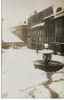 Carte Photo à Identifiée - Place Du Village - To Identify