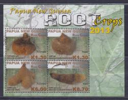 Papua New Guinea 2013 Root Crops Sheetlet MNH - Papua Nuova Guinea