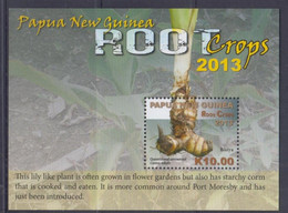 Papua New Guinea 2013 Root Crops S/S MNH - Papua Nuova Guinea