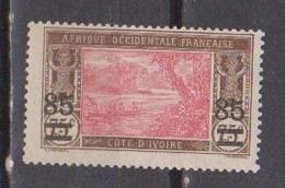 COTE D'IVOIRE    N°  YVERT  :  61   NEUF AVEC  CHARNIERES      ( CH  3 / 02 ) - Unused Stamps
