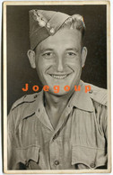 Photo Postcard Military Man Portrait Polish Army Poland - War, Military