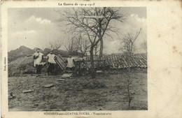 La Guerre De 1914 1915 MANDRES Aux QUATRE TOURS Tranchée Abri 1 RV Tresor Et Postes 120 - Other Municipalities