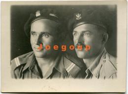 Photo Portrait Military Men Polish Army - War, Military