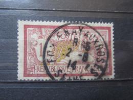 """VEND BEAU TIMBRE DE FRANCE N° 121 , OBLITERATION """" FONTENAY-AUX-ROSES """" !!! - 1900-27 Merson"""
