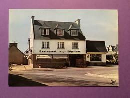 29  CPSM   PLOUNEOUR-TREZ   «Au Chaudron D'Argent» Hôtel-Restaurant     Très Bon état - Otros Municipios