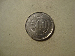 MONNAIE LIBAN 500 LIVRES 1996 - Lebanon