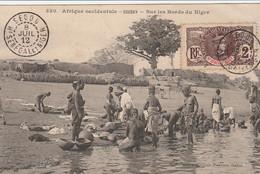 CARTE SOUDAN FRANCAIS   BORDS DU NIGER CIRCULEE - Niger