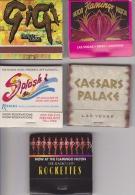 5 POCHETTES D'ALLUMETTES CASINO/HOTEL De LAS VEGAS  USA ( Avec Allumettes ) - Matchboxes