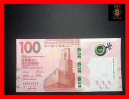HONG KONG 100 $  1.1.2018  P. New  SCB  UNC - Hong Kong