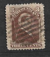 Terre Neuve       UK    N°  42  Oblitéré      B /TB Voir Scans    Soldé Le Moins Cher Du Site  ! ! ! - 1865-1902