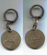 Porte-clefs Mobil 1866-1966 Pégase Spécialiste Mondial De La Lubrification - Key-rings