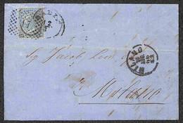 ANTICHI STATI ITALIANI - Lombardo Veneto - Badia (6 Agosto/17 Agosto 1866) - Tre Lettere D'archivio Per Milano Con Affra - Unclassified