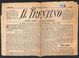 ANTICHI STATI ITALIANI - Lombardo Veneto - Territori Italiani D'Austria - Segnatasse Giornali - 1 Kreuzer (2 - Tipo III) - Unclassified
