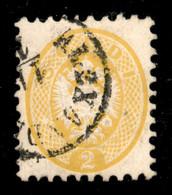 ANTICHI STATI ITALIANI - Lombardo Veneto - Levante Austriaco - 1864 - 2 Soldi (41L) Usato A Alessandria (pti 11) - Molto - Unclassified