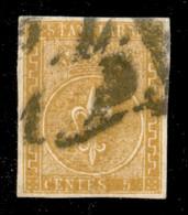 ANTICHI STATI ITALIANI - Parma - 1853 - 5 Cent (6) Annullato In Arrivo A Milano (P.L.1D.) - Diena + Cert. AG - Unclassified