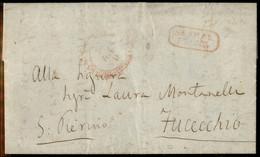 ANTICHI STATI ITALIANI - Toscana - 1859/1860 (dicembre) - Giuseppe Montanelli - Lettera Autografa Viaa Strade Ferrate Li - Unclassified