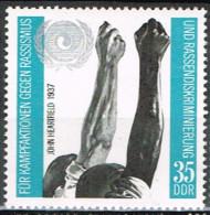 RDA 43 - ALLEMAGNE ORIENTALE N° 1392 Neuf** Lutte Contre Le Racisme - Ungebraucht