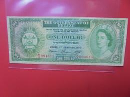 BELIZE 1$ 1976 Circuler (B.22) - Belize