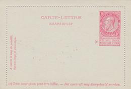 Carte Lettre Entier Postal Fine Barbe - Postbladen