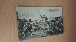 CPA - Bataille -  GOTZ - CURT VON LUTTICHAU In Der Schlacht Von St Pivan Am 18 August 1870 - Otros