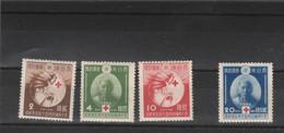 Japon Yvert 291 à 284 ** Et * Neufs Sans Et  Avec Charnière - Croix Rouge -  Cote 55 Euros - 2 Scan - Neufs